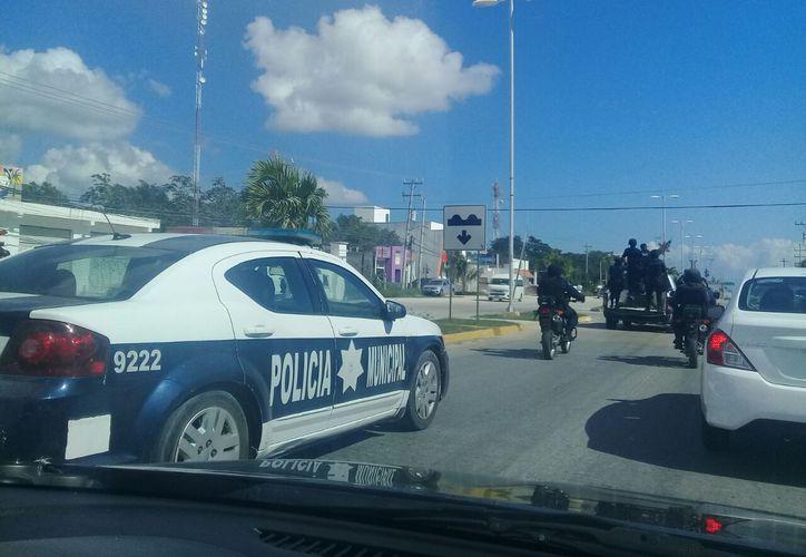 Los elementos de seguridad realizarán recorridos en el municipio. (Cortesía)