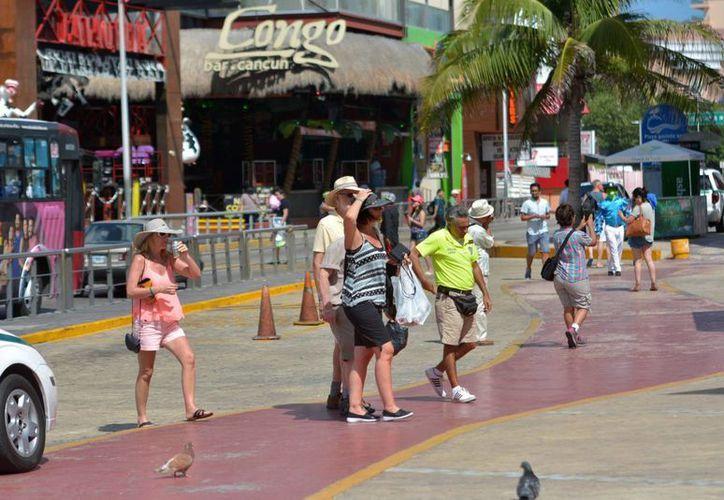 La derrama económica que deja un turista de tiempo compartido es mayor. (Karim Moisés/SIPSE)