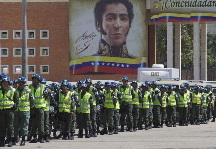 El plan Patria Segura prevé el despliegue de las Fuerzas Armadas por las calles para combatir el elevado índice de delitos. (EFE/Archivo)
