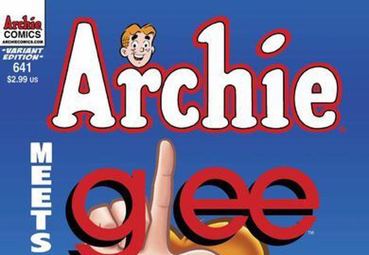 """En el especial de cuatro números """"Archie Meets Glee"""", los famosos estudiantes de Riverdale y McKinley se encuentran. (Agencias)"""