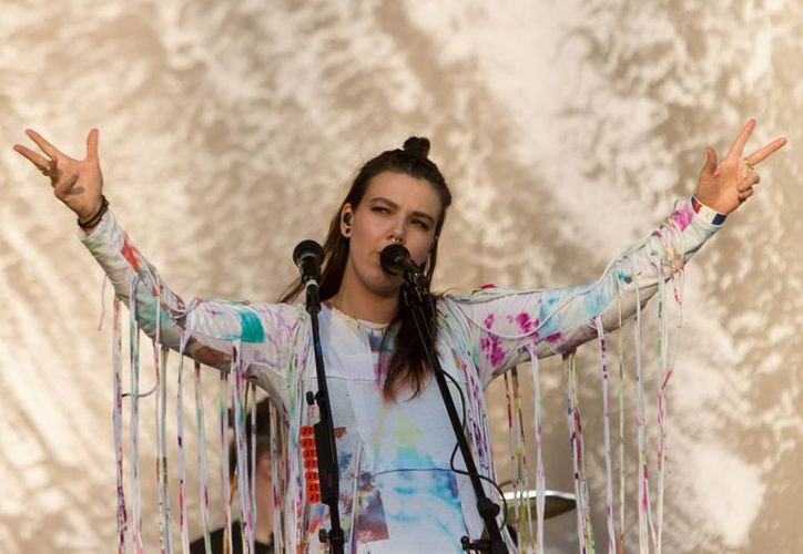 Of Monsters and men se presetó con éxito esta tarde en el Vive Latino 2016, en su primera visita a tierras aztecas. (Notimex)