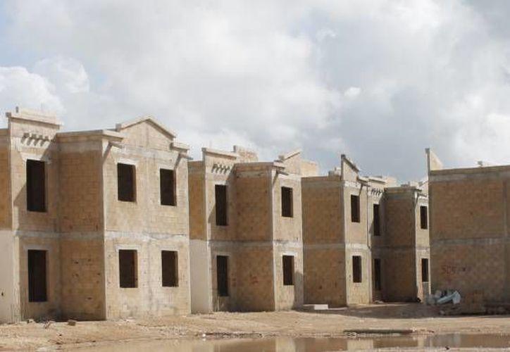 Una casa de una sola planta puede edificarse en una dimensión máxima de 40 metros cuadrados. (Israel Leal/SIPSE)