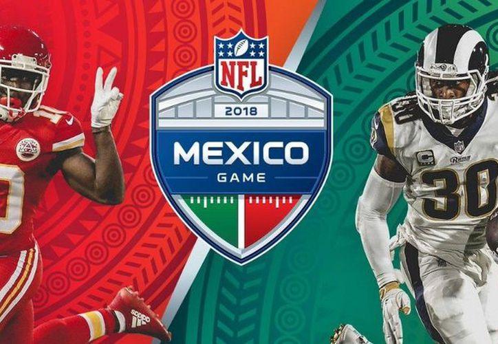 Los Chiefs aseguraron que se medirán contra los Rams en el Estadio Azteca. (Twitter)