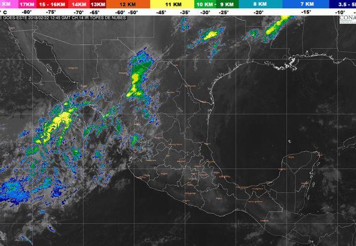 Los vientos serán de 15 a 25 kilómetros por hora en Chetumal. (Conagua)