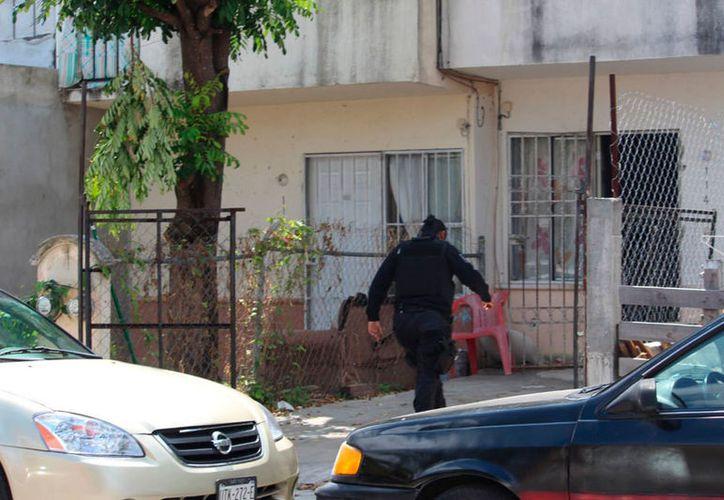 La policía no reveló la naturaleza de las lesiones que sufrieron los familiares. (Redacción/SIPSE)