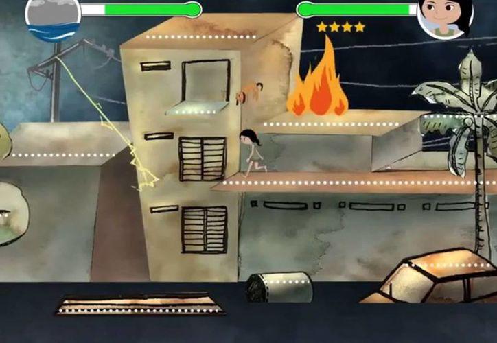 Earth Girl es un juego que prepara a los ciudadanos ante la llegada de desastres naturales. (vimeo.com/42123328)