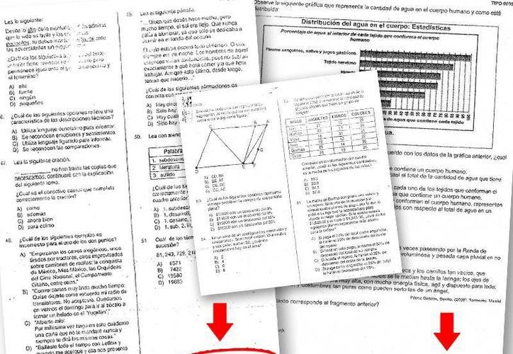 """El documento presenta el apartado de español. En la parte superior derecha aparece el folio 00004  y en la inferior la leyenda: """"Prohibida su reproducción con fines de lucro"""". (SIPSE)"""