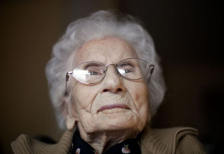 Besse Cooper fue certificada por primera vez como la persona más anciana del mundo por el Premio Guinness de los Récords en enero de 2011. (Agencias)