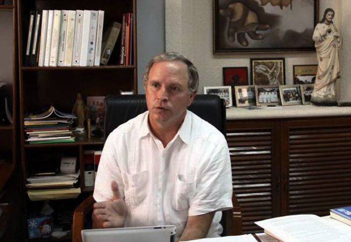 El rector del Seminario Jorge Antonio Laviada Molina invita a las familias yucatecas a pasar un sábado agradable apoyando y colaborando con los seminarios de Mérida. (SIPSE)