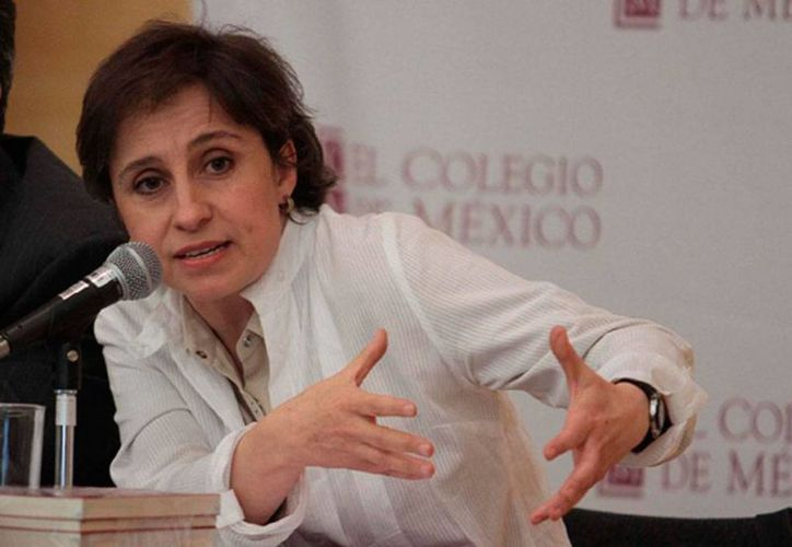 Carmen Aristegui 'abrió' otro capítulo de su conflicto con MVS: acusó a la empresa de censurar el reportaje de la Casa Blanca. (amlo.org)