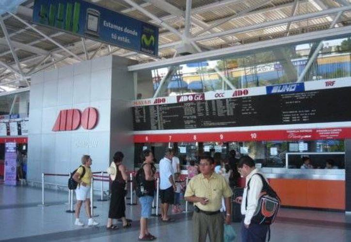 El turismo nacional será el que más utilice el transporte. (Foto de Contexto/SIPSE)