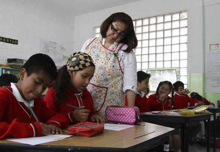 De acuerdo con el secretario de Educación, Emilio Chuayffet, no habrá sanción para los estados que no adecuen sus leyes a la reforma educativa. (Imagen de contexto/NTX)