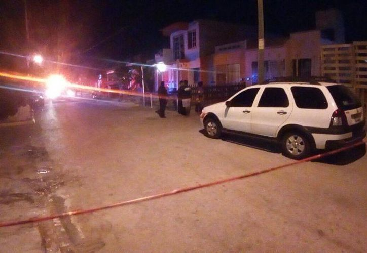 Los hechos se registraron en la segunda privada Ciprés, de la Región 247. (Eric Galindo/SIPSE)