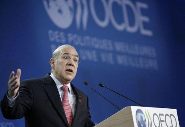 El secretario general de la Organización para la Cooperación y el Desarrollo Económico, José Ángel Gurría. (Notimex)