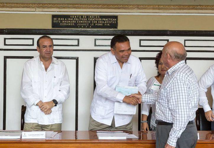 El gobernador Rolando Zapata estará este jueves en el Instituto Tecnológico de Conkal para firmar un convenio de colaboración. (SIPSE)