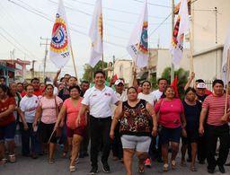 Carlos Hernández Blanco, con mejores propuestas para Cozumel