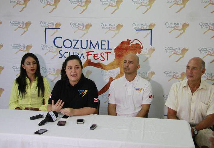 Presentación del evento que se realizará en Cozumel. (Luis Soto/SIPSE)