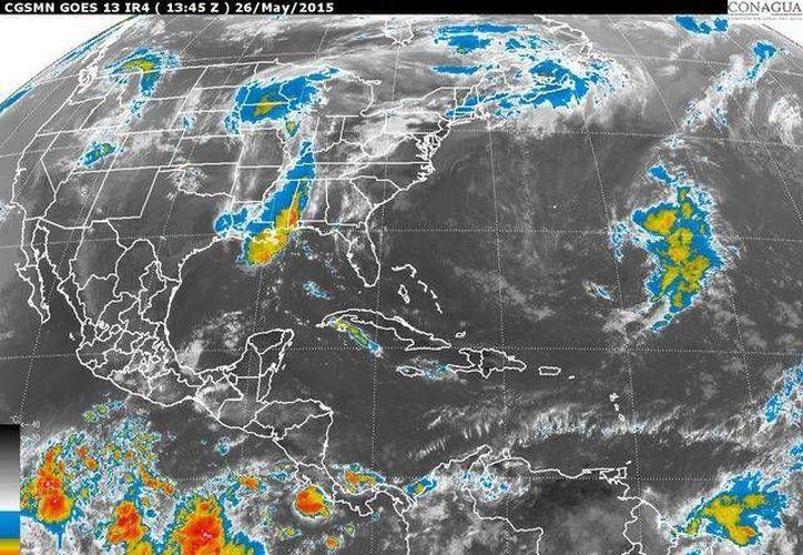 """El evento de """"Surada""""  se presentará con vientos de hasta 50 kilómetros por hora en el litoral del Golfo de México. (Cortesía/Conagua)"""