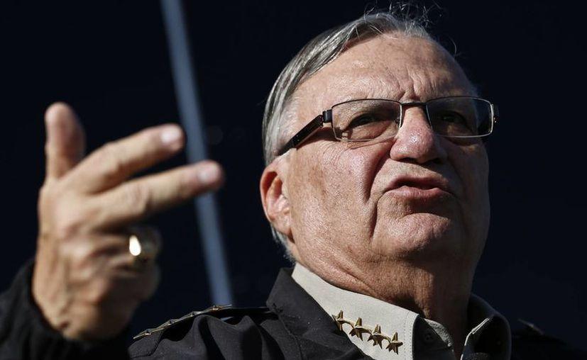Joe Arpaio, de 80 años, comenzó su sexto período al mando en enero. (Agencias)