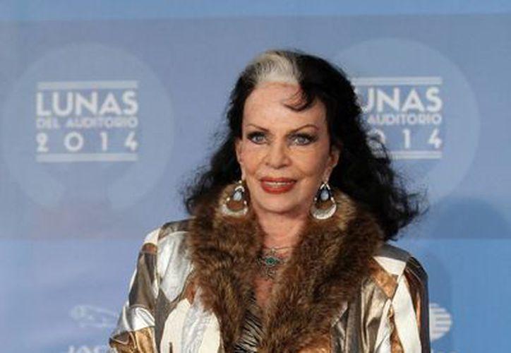 Yolanda Montez afirmó que nunca buscó ser estrella del cine o del teatro, porque jamás le interesó llamar la atención de la gente. (Archivo/Notimex)