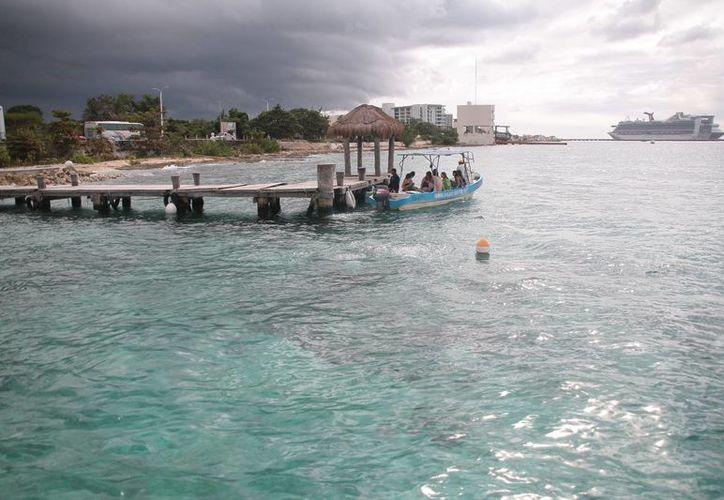 La instalación de los arrecifes artificiales será en la zona sur de la isla. (Julián Miranda/SIPSE)