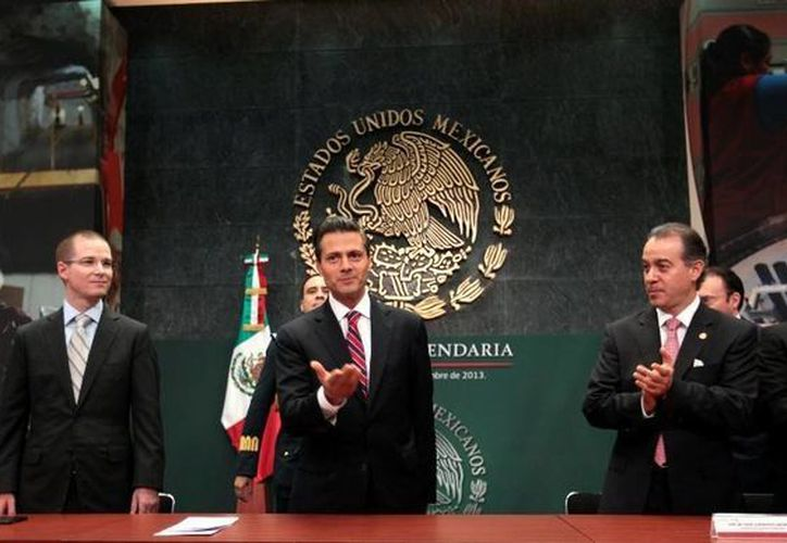El presidente Enrique Peña Nieto dio a conocer los detalles de su iniciativa de reforma hacendaria, que fue presentada a la Cámara de Diputados. (presidencia.gob.mx)
