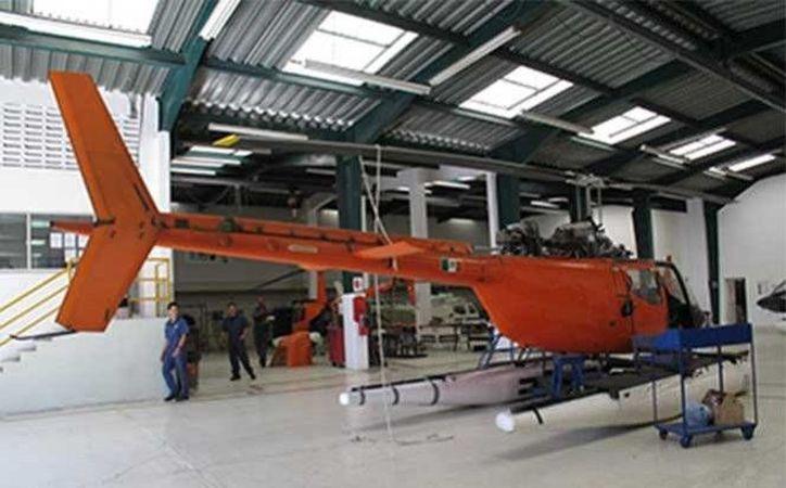 Una aeronave similar a la de la imagen cayó en mar abierto mientras apoyaba en las labores de pesca de atún cerca del puerto de Mazatlán. (Excélsior)