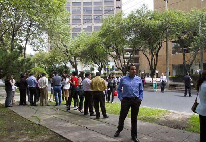 Imagen del temblor que afectó a la Ciudad de México el pasado miércoles. (Notimex/Archivo)