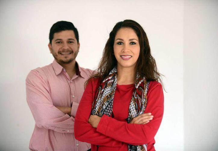 Carlos Cortés Manica y Fátima Rocha Argüelles, de Enersureste,  impulsan un modelo de negocio en constante actualización y proponiendo innovación y tecnología a favor del medio ambiente. (Milenio Novedades)
