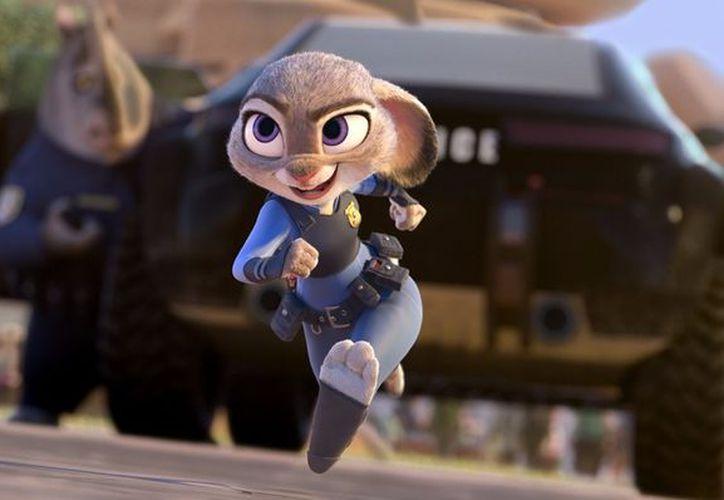 Imagen de la película animada Zootopia, ganadora a los premios Oscar (La Jornada)