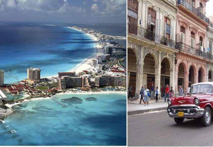 Anteriormente se realizaban circuitos de un día de visitantes europeos que llegaban de Cuba. (Contexto)