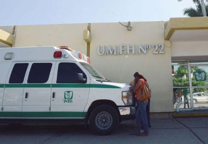 El cuerpo fue trasladado por el Servicio Médico Forense. (El Debate)