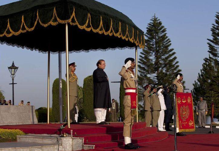 Nawaz Sharif fue elegido como primer ministro pakistaní. (Agencias)