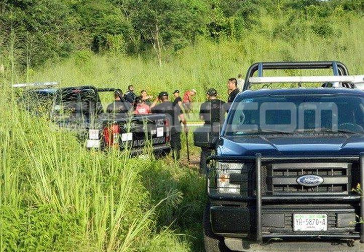 El cadáver de la mujer fue hallado por un leñador del rumbo. (Milenio Novedades)