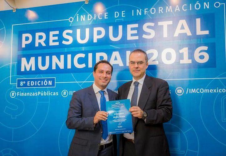 Desde los hechos es evidente que el manejo presupuestal del Ayuntamiento ha evolucionado, consideró el presidente del Instituto Mexicano de Ejecutivos de Finanzas (IMEF) Yucatán, Amenofis Acosta. (Foto cortesía)