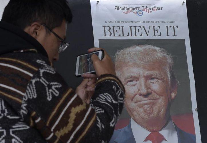 El abrumador apoyo de los votantes blancos de la clase trabajadora puso a Trump en la Casa Blanca y le dio el triunfo. (AP/Susan Walsh)