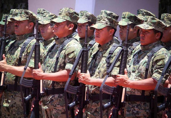 En todo el proceso penal, los efectivos militares se presumirán inocentes hasta que se dicte sentencia. Imagen de contexto. (Archivo/Notimex)