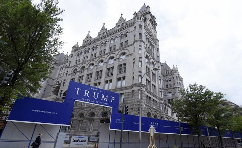 El nuevo hotel de Donald Trump fue inaugurado en octubre pasado, semanas antes de las elecciones presidenciales. (Archivo/Agencias)