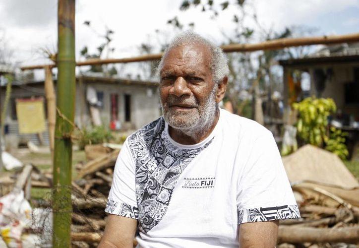 Lik habita en unas islas del Pacífico Sur que, según él, resentirán todavía más los efectos del cambio climático. (AP)