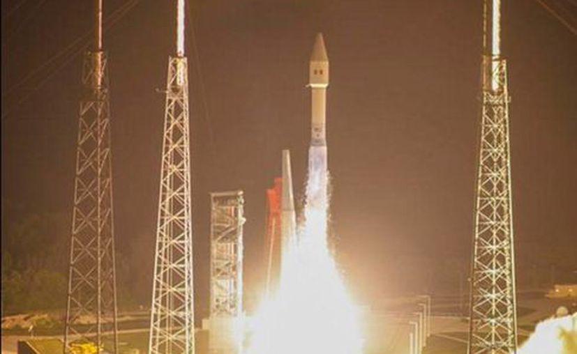 El satélite Morelos 3 fue lanzado con éxito el pasado 2 de octubre. (twitter/@SCT_mx)