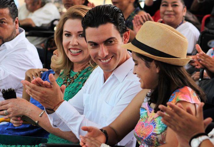 El evento de entrega se llevó a cabo en la Plaza de la Reforma. (Cortesía)