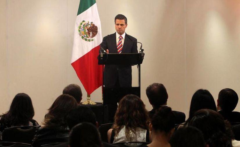 """""""(Pemex) es y seguirá siendo de todos los mexicanos"""", dijo EPN. (presidencia.gob.mx)"""