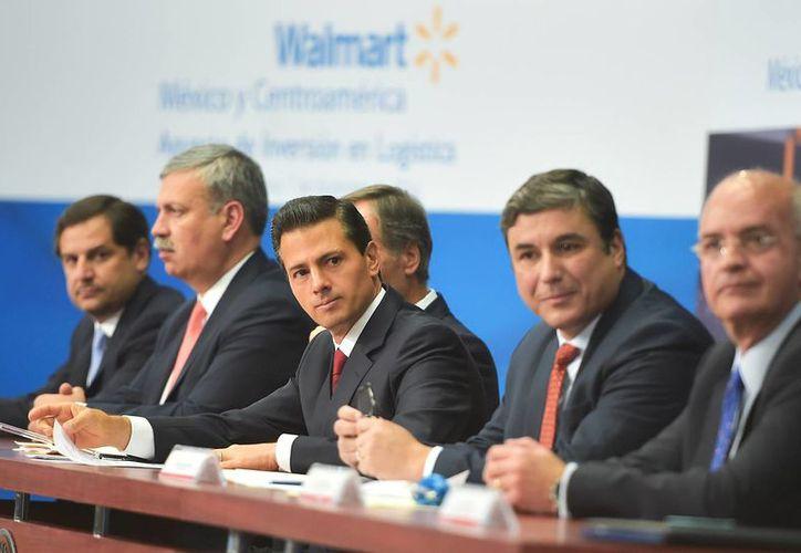 Peña Nieto destaca los beneficios del libre comercio entre México y Estados Unidos. (Presidencia)