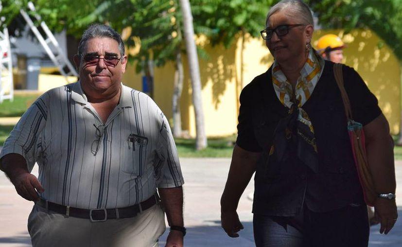 Roberto Cavazos presentó el viernes su renuncia a sólo seis días de que su esposa, la ex titular del DIF, lo hiciera. (Foto: Gustavo Villegas)