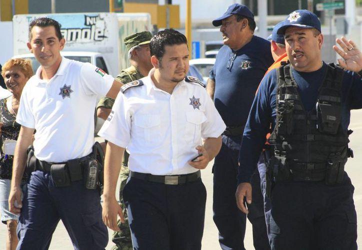 Actualmente el número de elementos policíacos en la capital del estado es de 315. (Harold Alcocer/SIPSE)