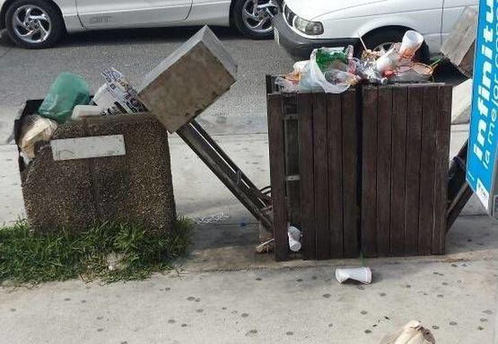 El problema de la basura afecta al turismo en Progreso. Vecinos exhortan a tomar medidas más adecuadas ahora que viene Semana Santa. (SIPSE)