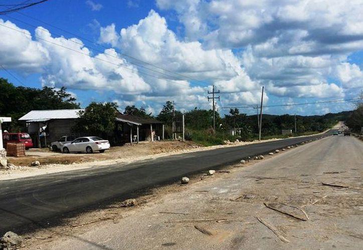 La vía tenía más de seis años sin recibir mantenimiento. (Edgardo Rodríguez/SIPSE)