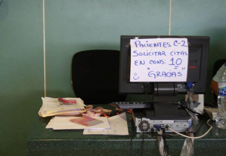 Aspecto de las instalaciones de la unidad 11 del IMSS. (Yenny Gaona/SIPSE)