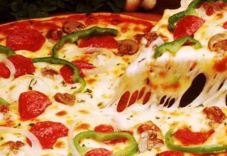 Si lees esto, lo pensarás dos veces antes de comer...¡Pizza!