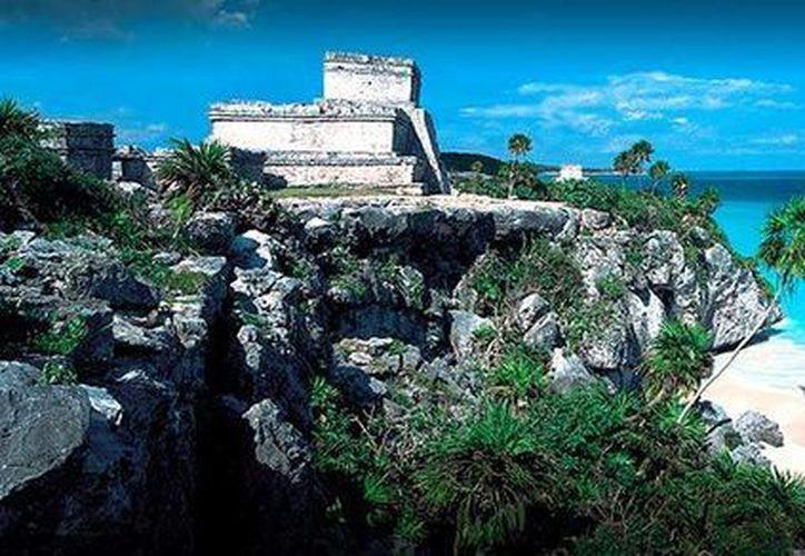 Tulúm es es uno de los escenarios dónde se desarrolla la película del viaje a México de Federico Fellini. (Foto de Contexto/SIPSE)